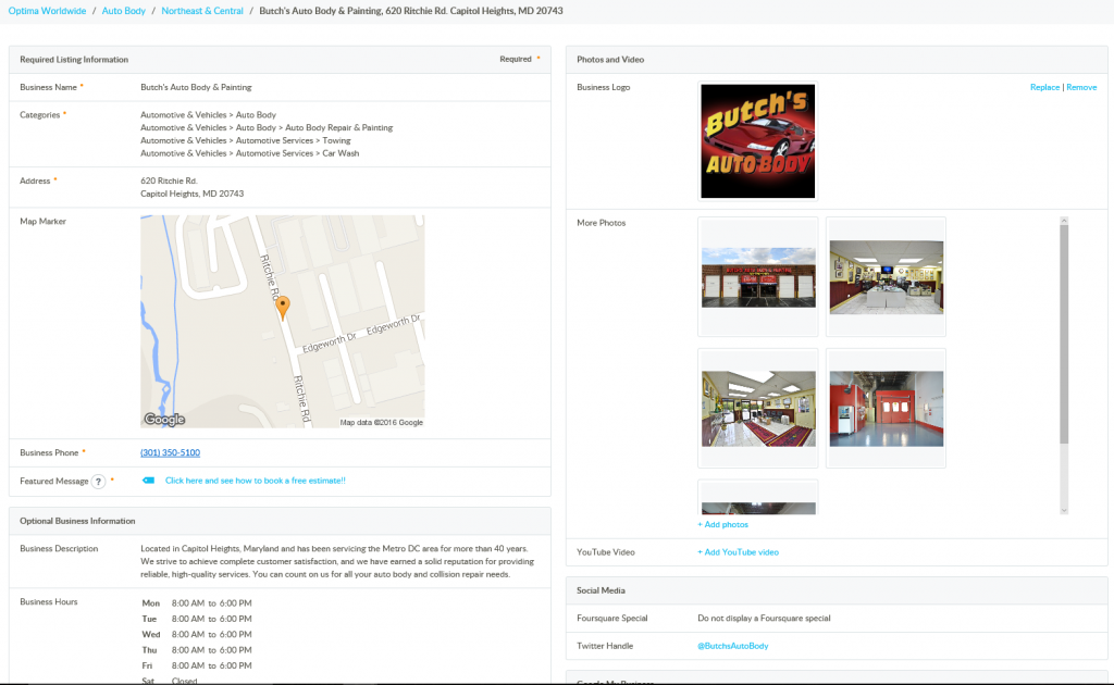 Location Management Platform
